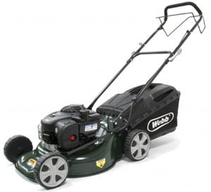 Webb 'Supreme' 46cm (18in) Self Propelled Rotary Mower with Briggs & Stratton 450E Engine