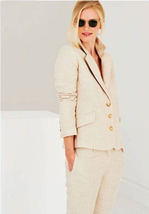 The chic new SS18 style by Really Wild: pure linen trousers