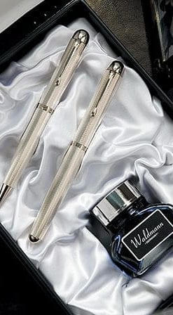 Sterling silver writing set by Waldmann of Germany