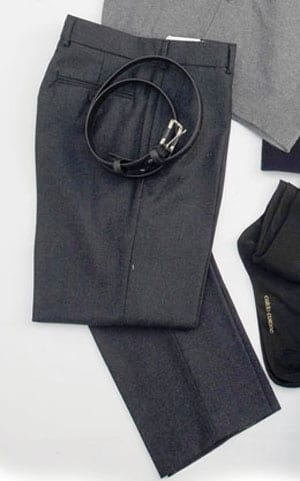 Smart pure wool trousers: essential kit and so difficult to find