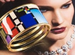 Yves Cuff a la Mondrian: 2012 by way of the Swinging Sixties