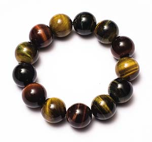 Red Capricorn: red tiger's eye bracelet