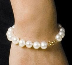 Fabulous large pearl bracelet from Hawaii: save £100