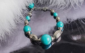Fabulous new turquoise bracelet by Aleyne: a snip at £37