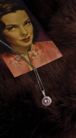 New Hatton Garden Collection: Manhattan Pink Sapphire Pendant