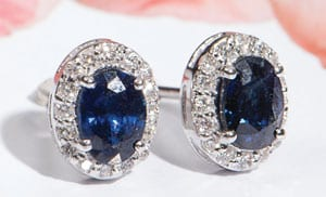 Sapphires, Diamonds and 18ct Gold: The Valois Earrings from Hatton Garden