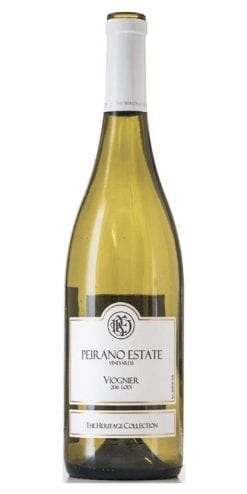 Vivacious Viognier from Peirano Estate, California: fantastic wine, only £169