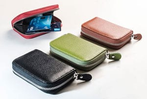 Chic new Dolce leather cardholder purse in 10 gorgeous colours, a snip at £17