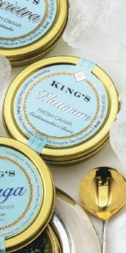 King's Fine Food Platinum Caviar
