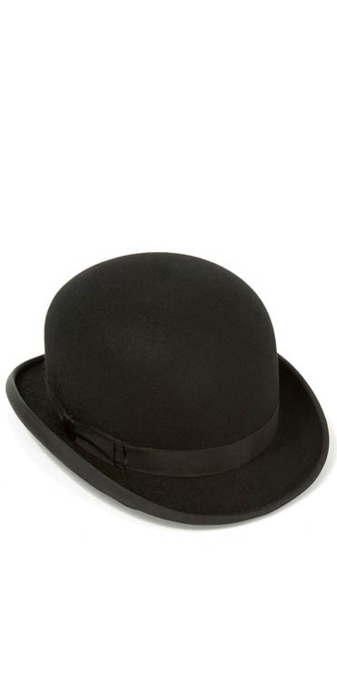 6896688b51608 The proper Hunting Bowler Hat in polished fur felt  The Devon Bowler Hat by  Christys    Co of London  Members save £80