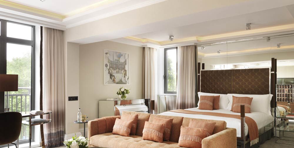 The Athenaeum Hotel & Apartments, Mayfair, for suites with a view of